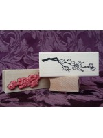 Cherry Blossom Branch Rubber Stamp