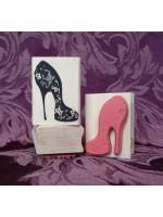 Stiletto Shoe Rubber Stamp