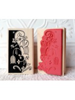 Night Vine Rubber Stamp