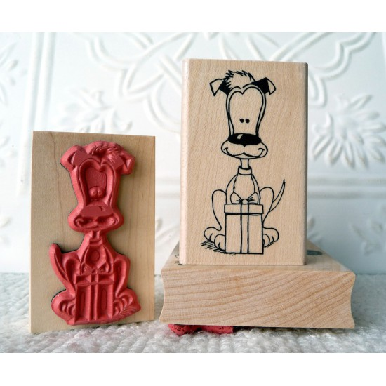 Boomer's Gift Dog Rubber Stamp