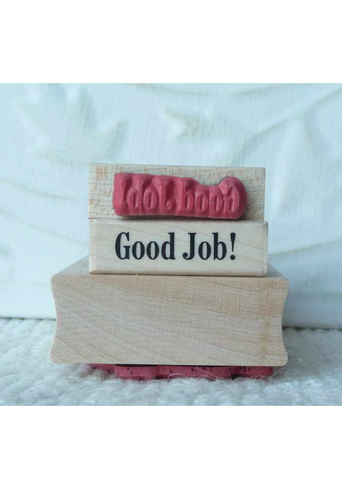 Good Job! Rubber Stamp