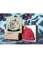Punkin Head Rubber Stamp