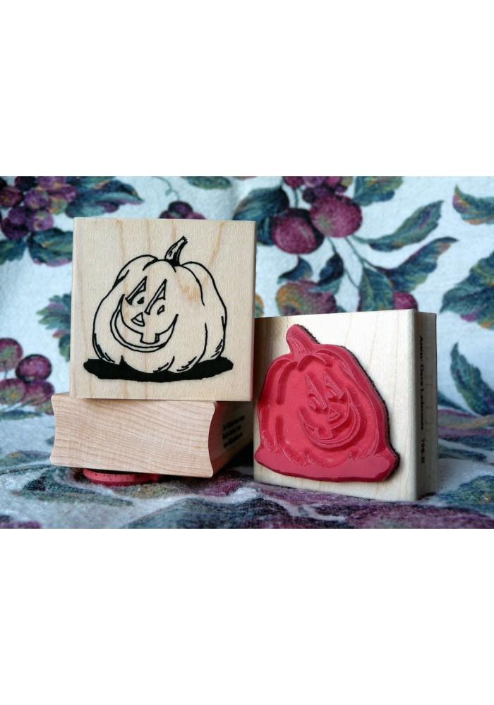 Punkin Head Rubber Stamp