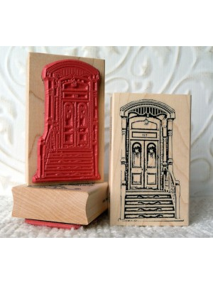 Queen St. West Rubber Stamp
