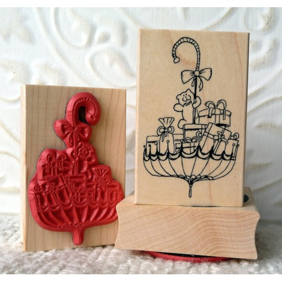 Baby Showers Rubber Stamp