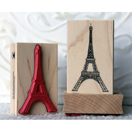 Eiffel Tower Rubber Stamp