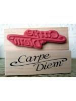 Carpe Diem Rubber Stamp