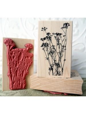 Flor de Perejil (Parsley Flower) Rubber Stamp