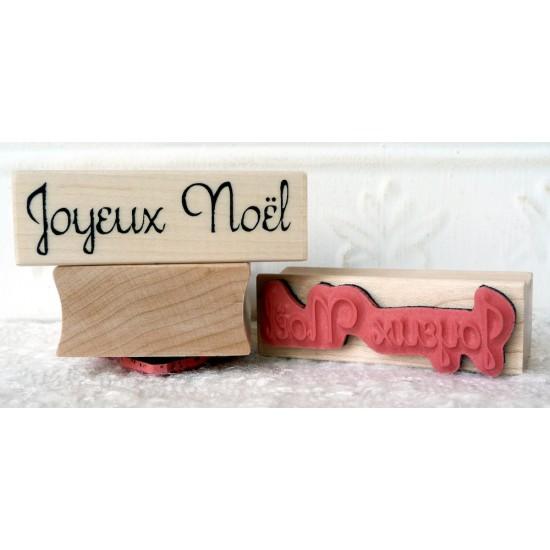 Joyeux Noel Rubber Stamp