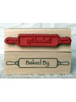 Baked By Rubber Stamp