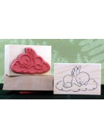Angel Baby Rubber Stamp