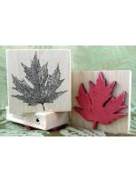 Quebec Maple Leaf Rubber Stamp