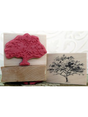 Little Tree Rubber Stamp