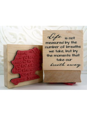 Life's Moments Rubber Stamp