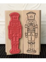 Nutcracker Rubber Stamp
