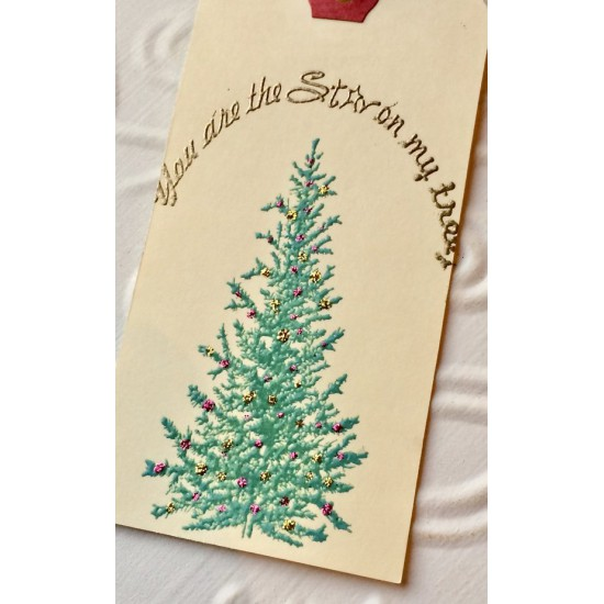 You Are The Star on my Tree Rubber Stamp