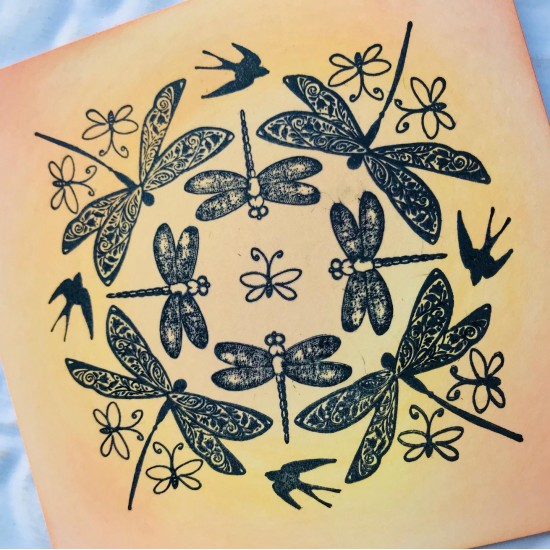 Transformation Rubber Stamp