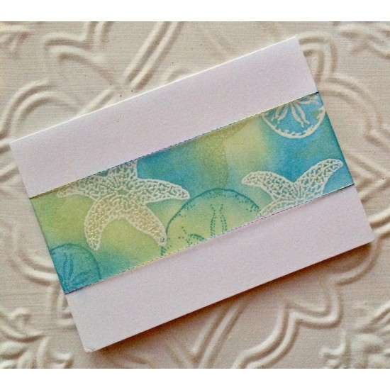 Large Starfish Rubber Stamp