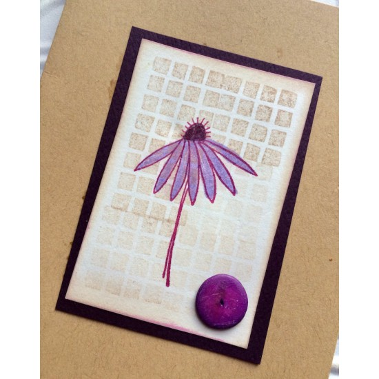 Background Blocks Rubber Stamp