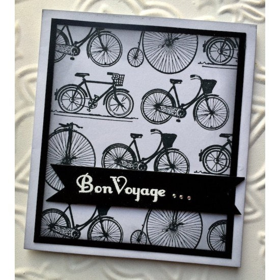 Bicycle Rubber Stamp