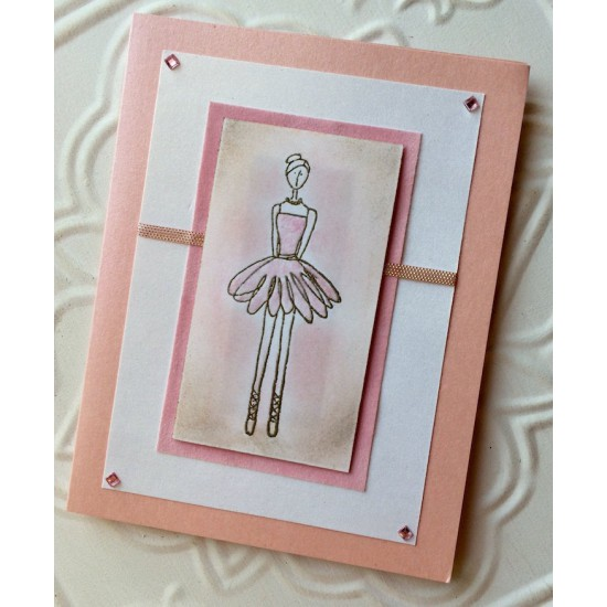 Dancer Rubber Stamp