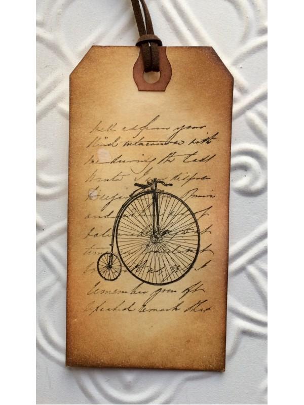 Handwritten Script Rubber Stamp