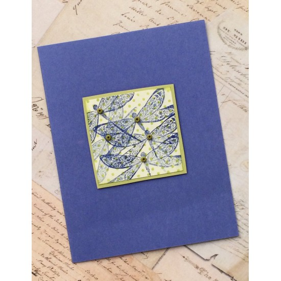 Dawne's Dragonfly Rubber Stamp