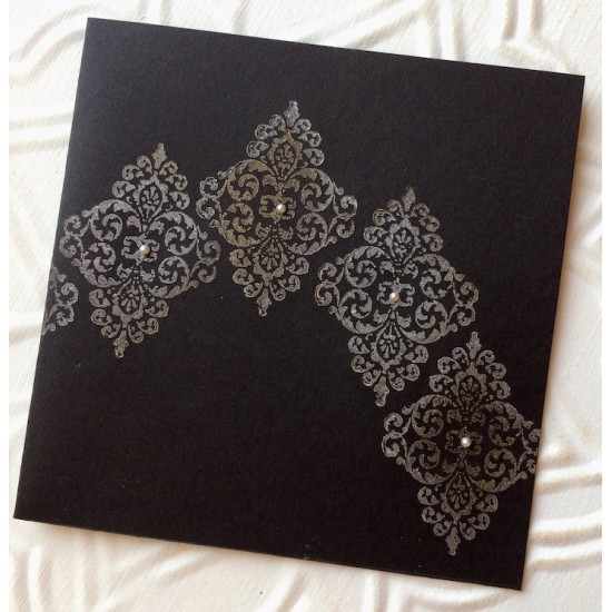 Baroque Ornament Rubber Stamp
