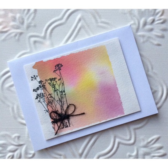 Flor de Perejil (Parsley Flower) Rubber Stamp