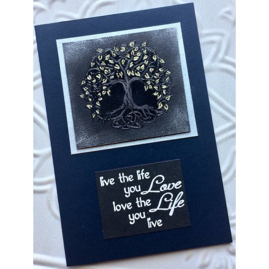 Celtic Tree Of Life Rubber Stamp